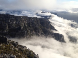 View from Table Mountain. 25/09/15